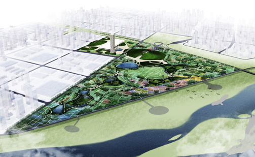 Design of Expo Valley presented in Xianyang