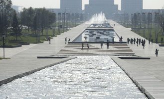 Central Park Hunnan Axis open for public, Shenyang