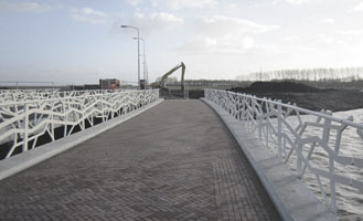 First three bridges in the Blaricummermeent  have been realized