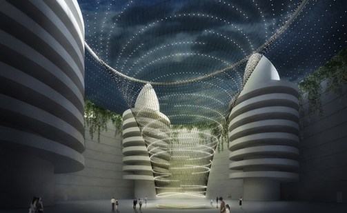 Design of the Parking Hill in Xianyang Expo Valley